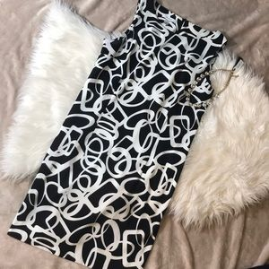 Black & White Dressbarn Dress